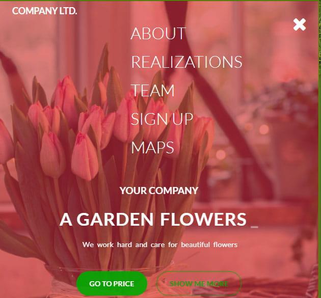 A Garden Flowers czyli nauka web develop pod koniecdnia