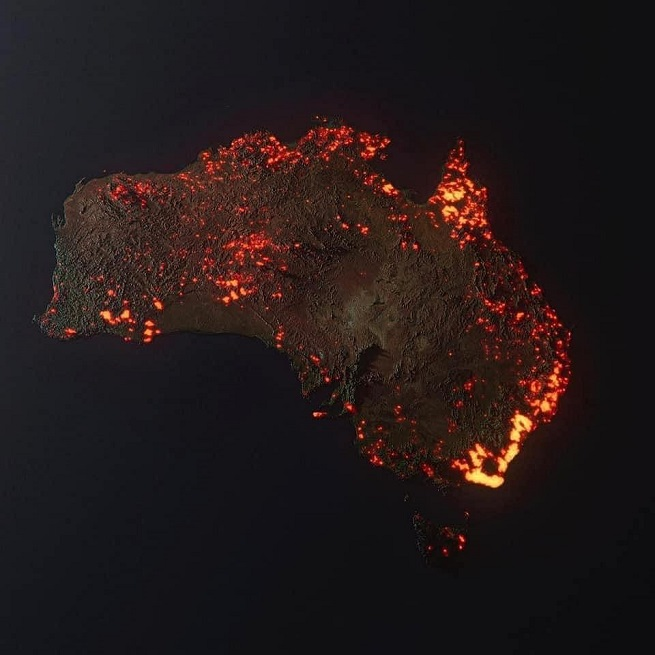 australia-płonie